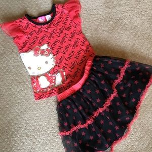 Other - Hello Kitty outfit size 5T